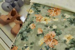 Blooming Boutique - produkty pojawią się zarówno  w połączeniu z minky (papaya) jak i velvet (powder pink)