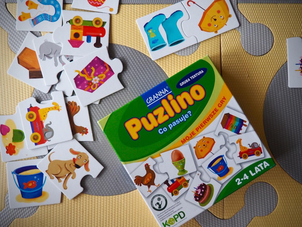 puzzlino co pasuje granna pierwsza gra planszowa