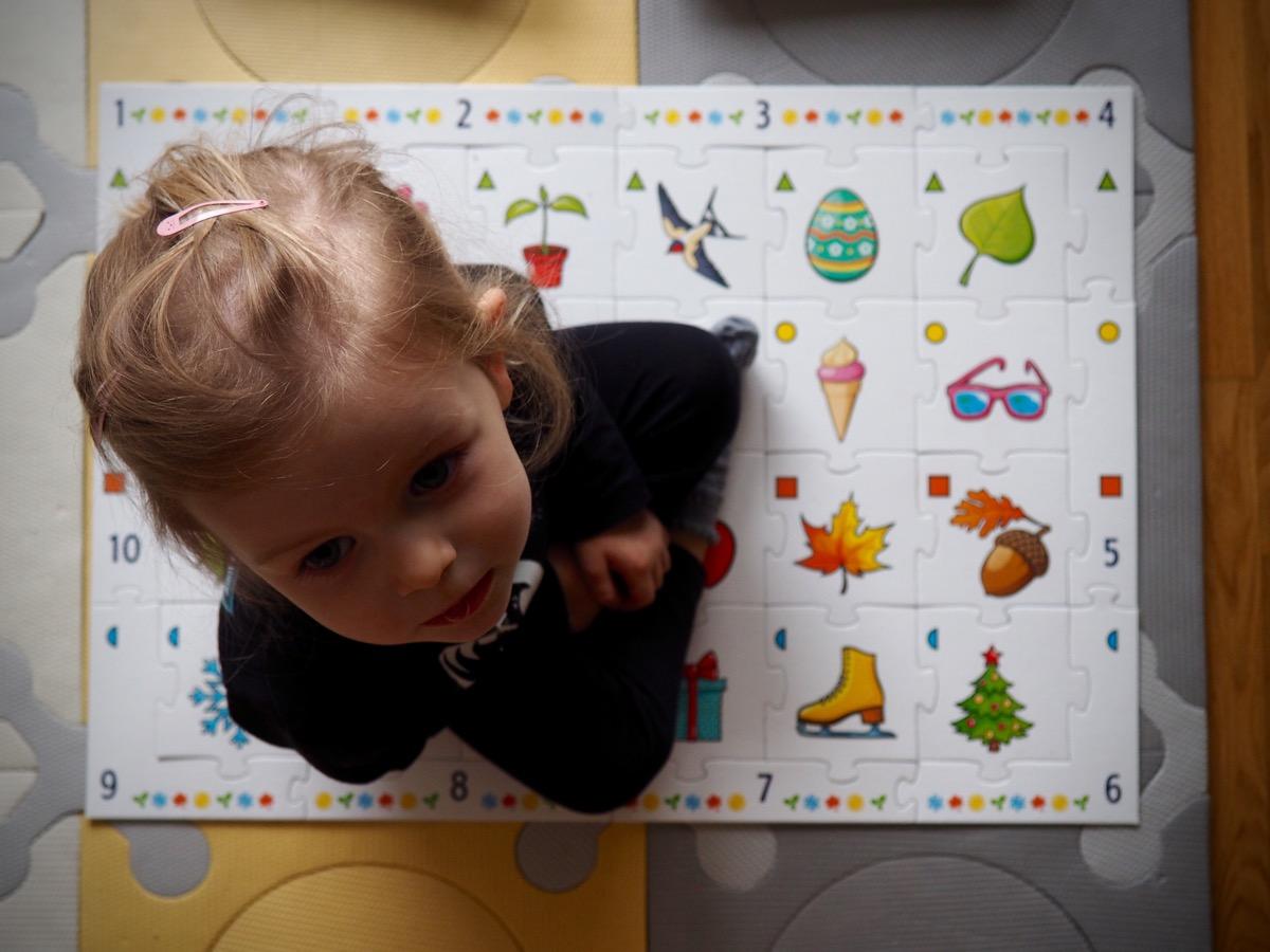 fun for everyone trefla 4 pory roku zestaw gier trefla gry planszowe dla dwulatka