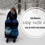 Baby Monsters Easy Twin 2.0 - mały ale wielki wózek podwójny