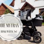 Joie Mytrax - boski wózek 3w1