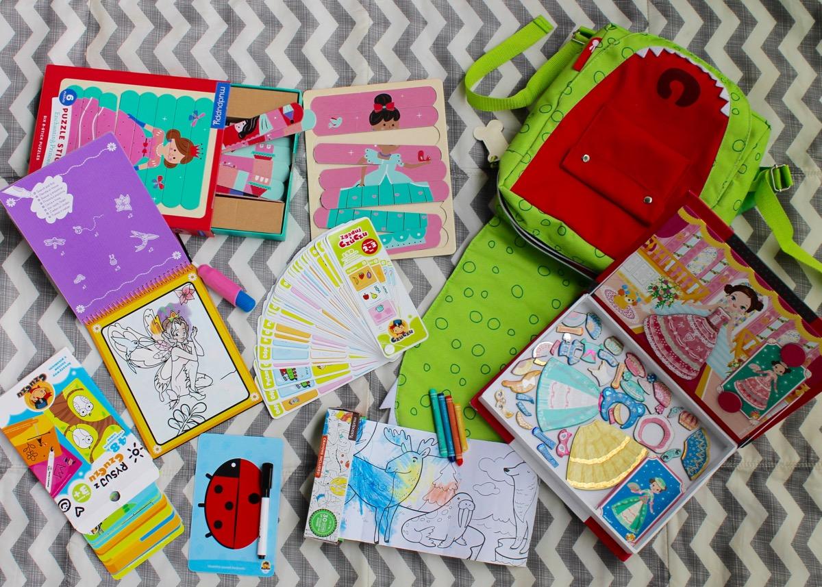 Sprawdzone zabawki na podróż z przedszkolakiem TOP 6