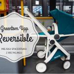 Greentom Upp Reversible - miejska spacerówka z recyklingu