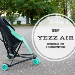 Quinny Yezz Air - niespodziewane testy ultralekkiej spacerówki