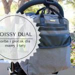 Joissy Dual - torba i plecak dla mamy i taty