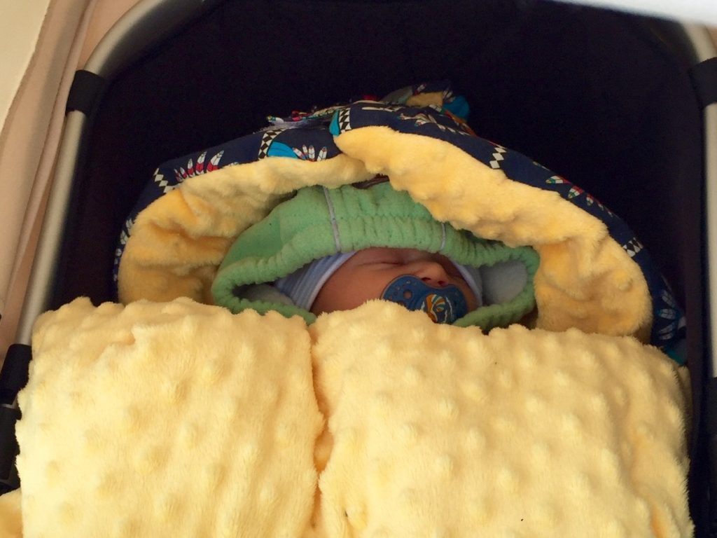 śpiworek do wózka la millou