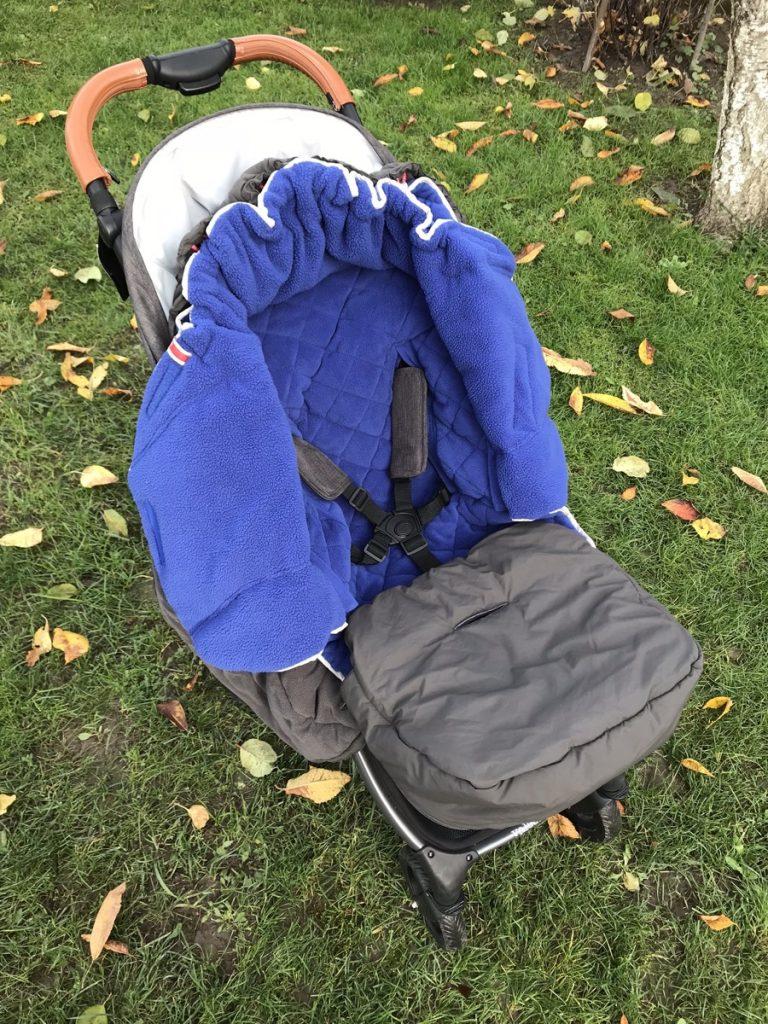 śpiworek do wózka lodger explorer