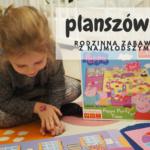 Planszówki - rodzinna zabawa z najmłodszymi