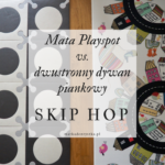 Mata Playspot vs. dwustronny dywan piankowy Skip Hop