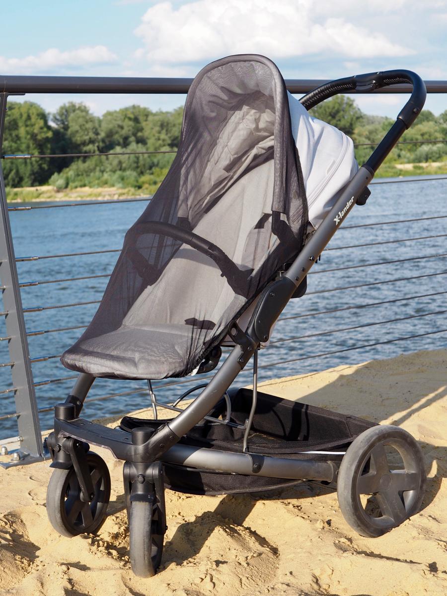 xlander xcite wózek spacerówka gondola opinia