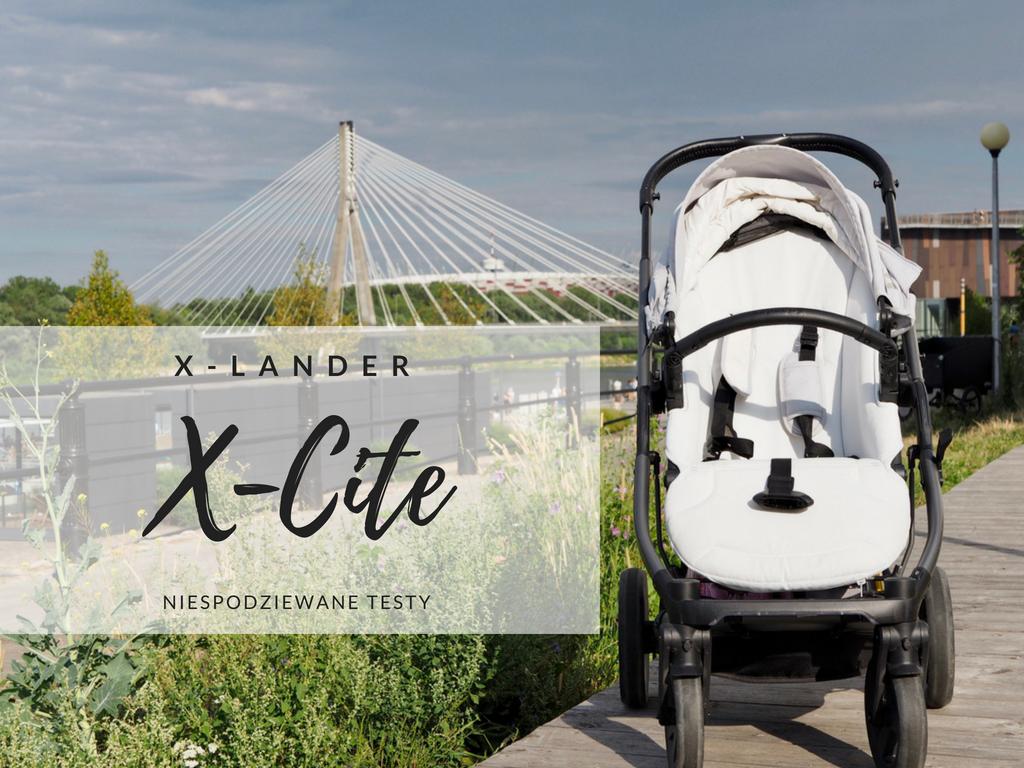 xlander x-lander x-cite xcite wózek spacerówka gondola opinia