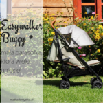 Easywalker Buggy + - mała parasolka, która wiele uniesie!