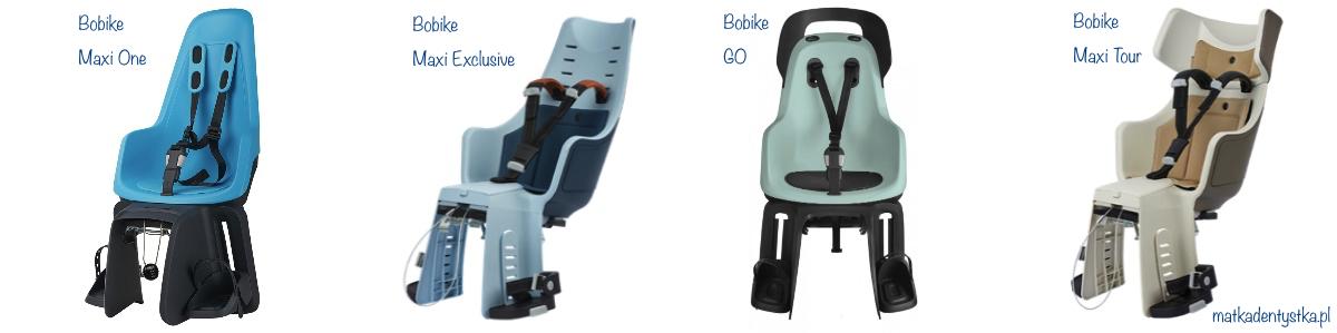bobike maxi tour fotelik rowerowy