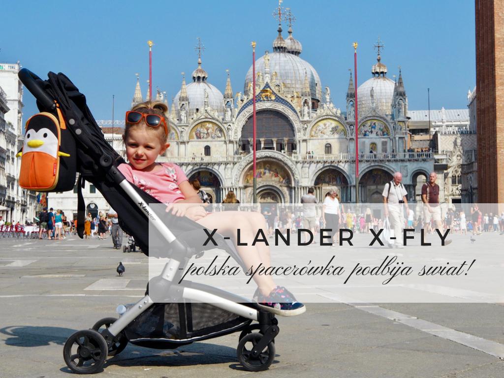 x-lander x-fly wózek spacerówka