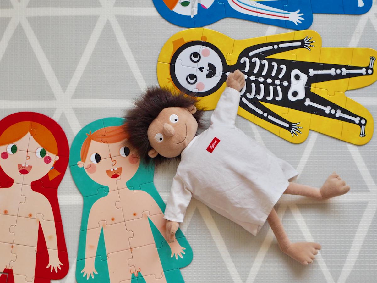 dziecko boi się lekarza dentysty zabawki czuczu puzzle erwin sigikid