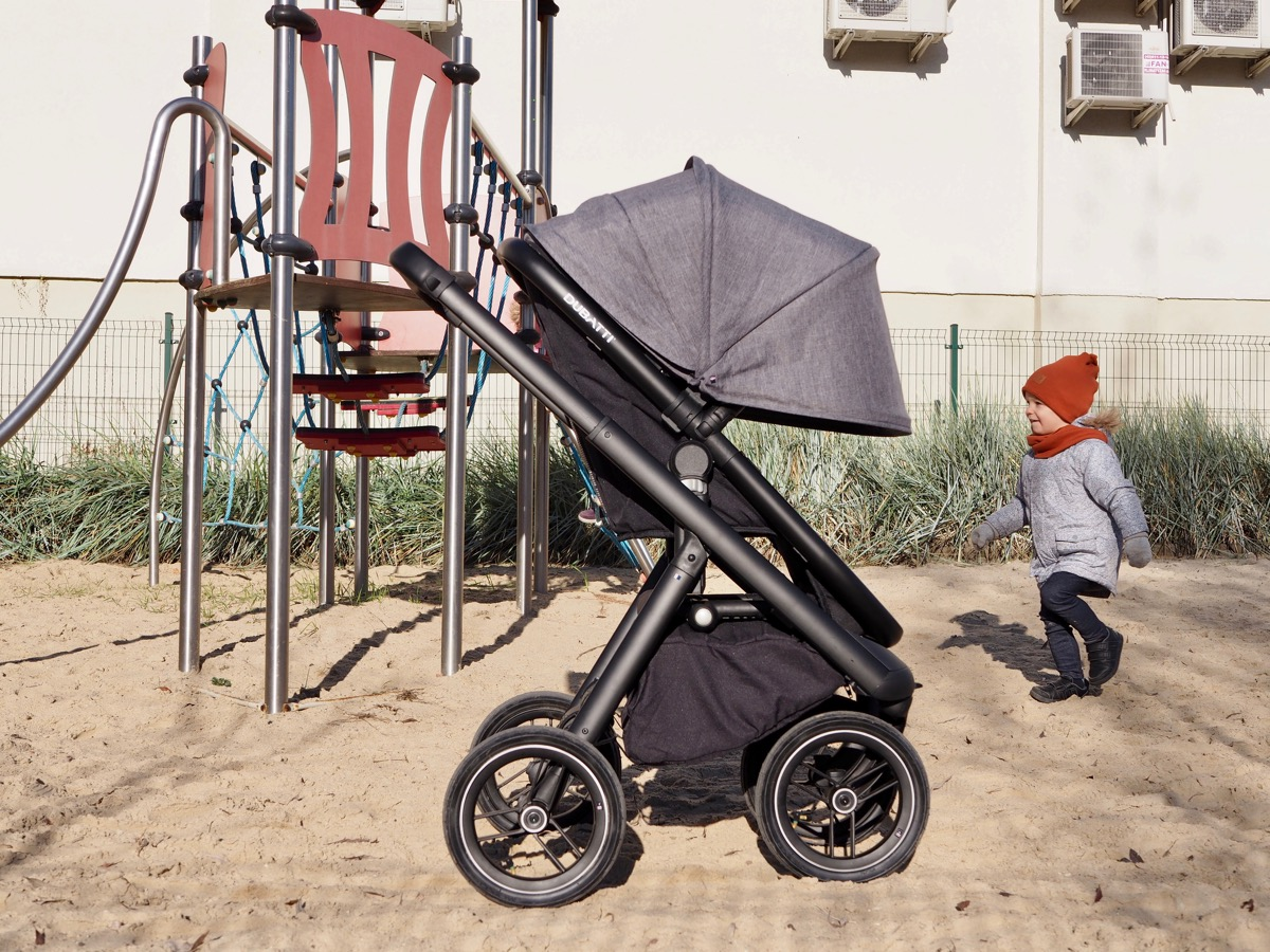 dubatti bugatti wózek spacerówka gondola recenzja testy