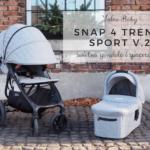 Valco Baby Snap 4 Trend Sport v2 - świetna gondola i spacerówka!