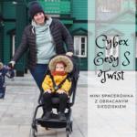 Cybex Eesy S Twist - mini spacerówka z obracanym siedziskiem
