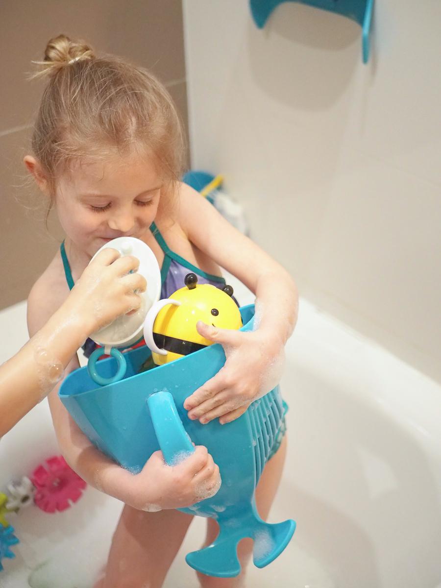 zabawki do kąpieli przegląd boon organizer