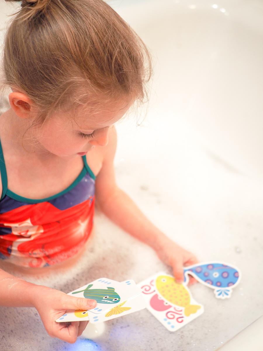 zabawki do kąpieli przegląd gra djeco