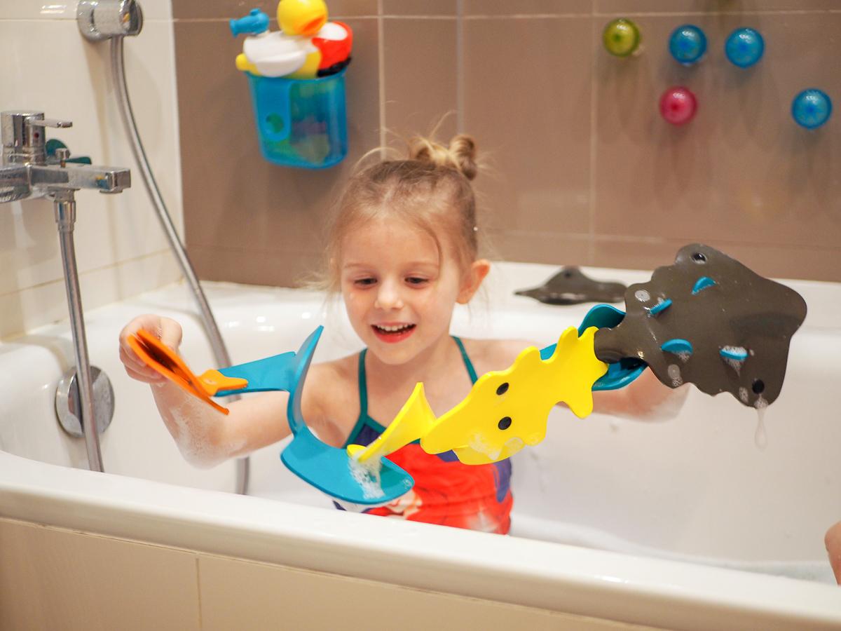zabawki do kąpieli przegląd quut quutuopia puzzle 3d