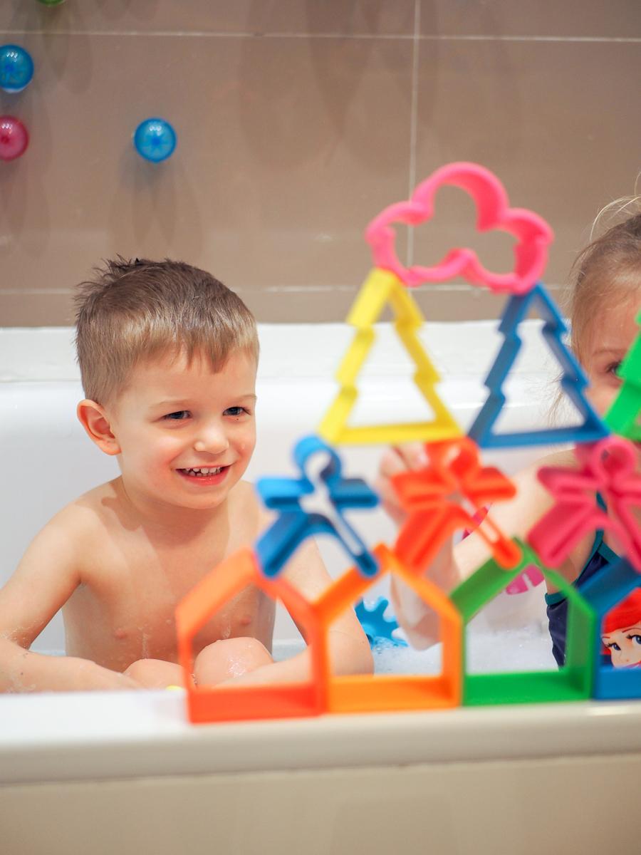 zabawki do kąpieli przegląd klocki dena