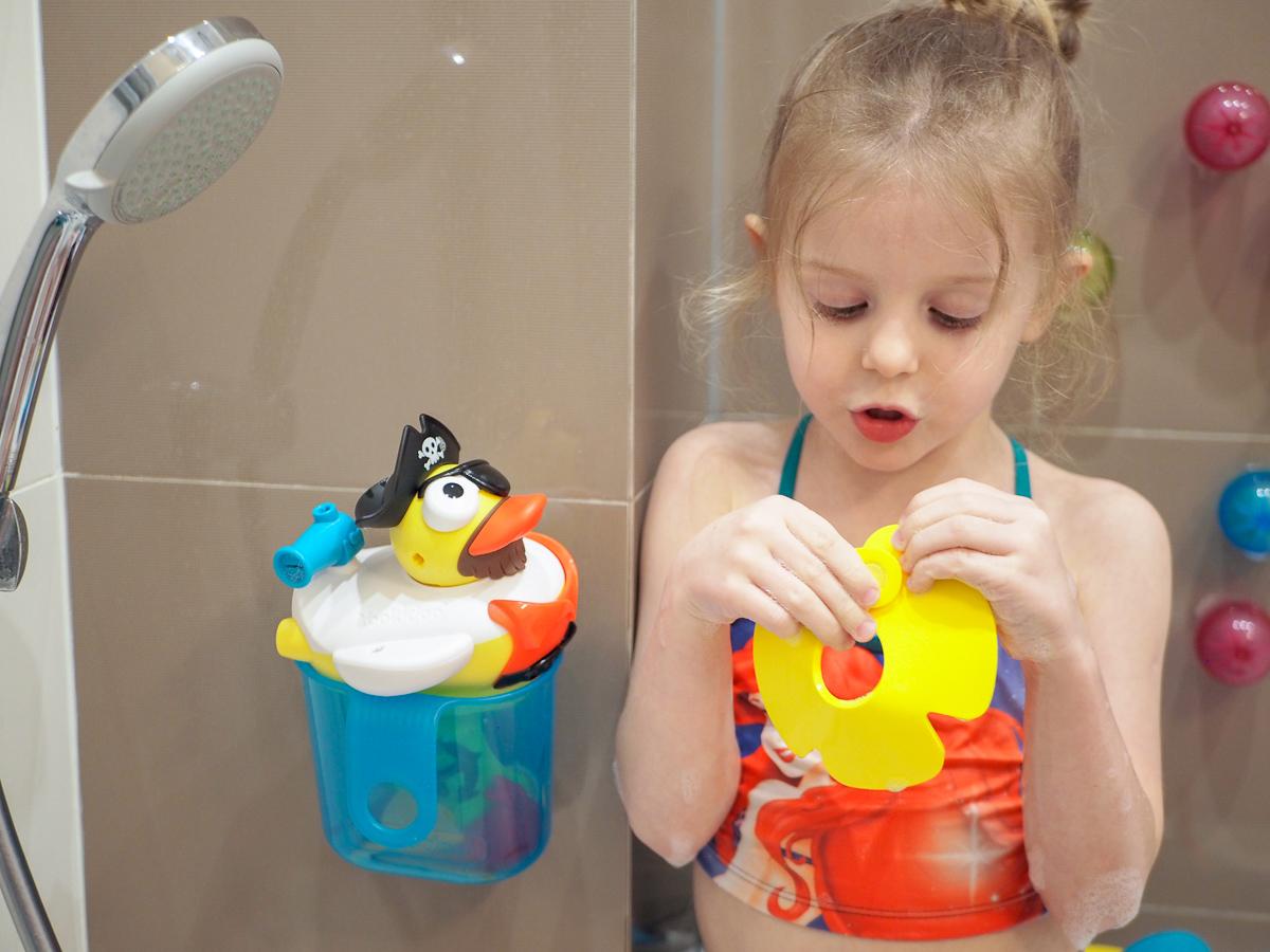 zabawki do kąpieli przegląd quut quutuopia puzzle 3d kaczka yookidoo