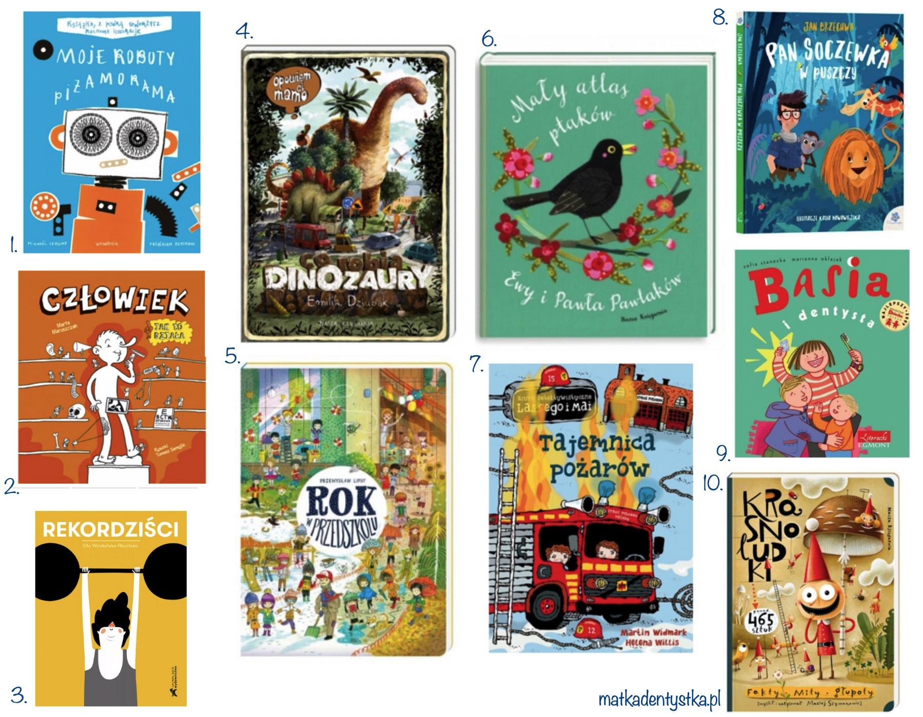 prezent na dzień dziecka przedszkolak edukacyjne książki