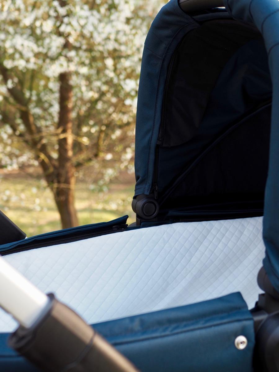 thule sleek recenzja wózek podwójny spacerówka gondola