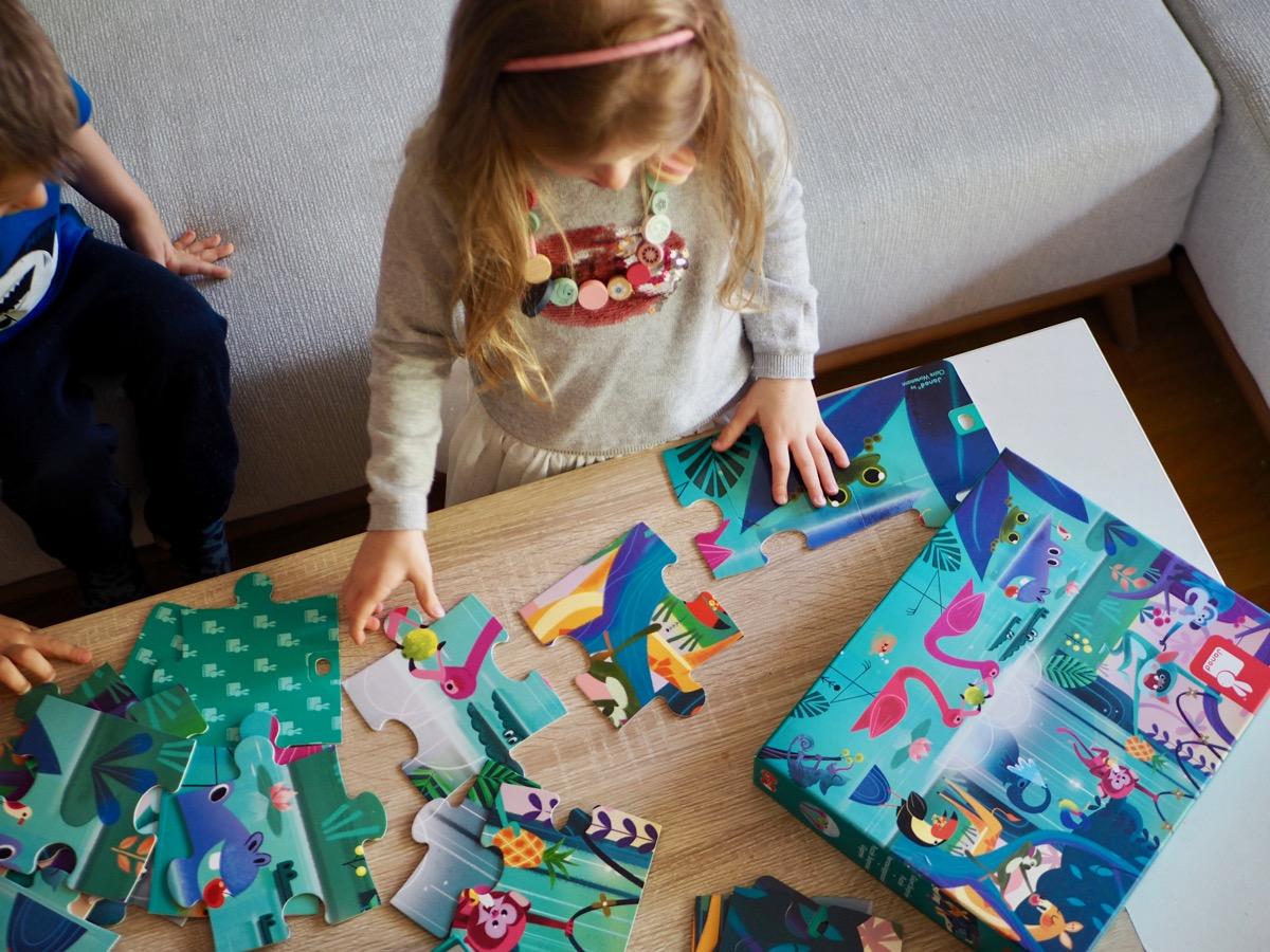 prezent na dzień dziecka przedszkolak puzzle