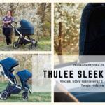 THULE SLEEK - wózek, który rośnie wraz z Twoją rodziną