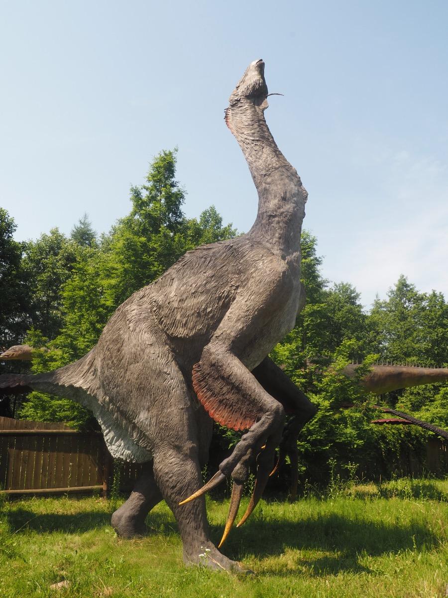 jurapark bałtów dinozaury weekend z dziećmi