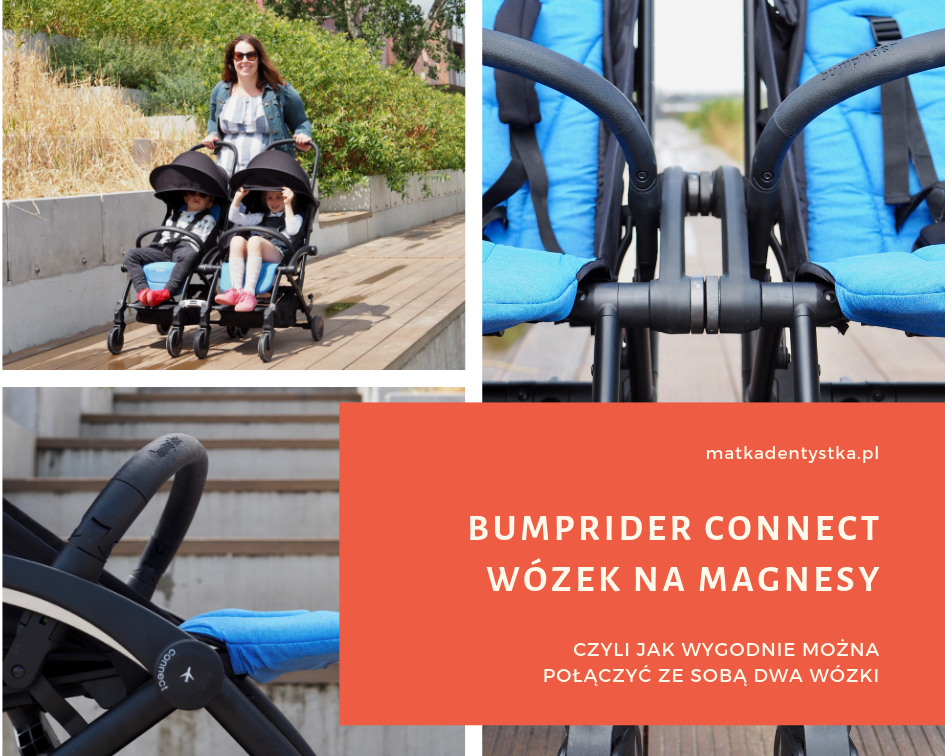 Bumprider Connect wózek do samolotu spacerówka gondola