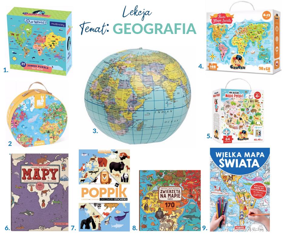uczę się z eduatorkiem geografia
