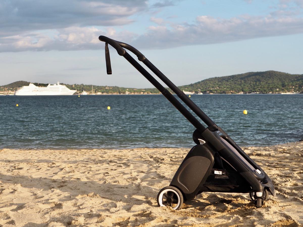 bugaboo ant wózek na wakacje obracane siedzisko opinia