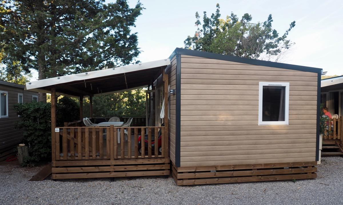 Domaine des Naïades camping lazurowe wybrzeże Homair