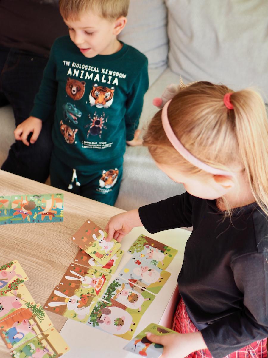 gry planszowe karciane zręcznościowe dla rodziny janod