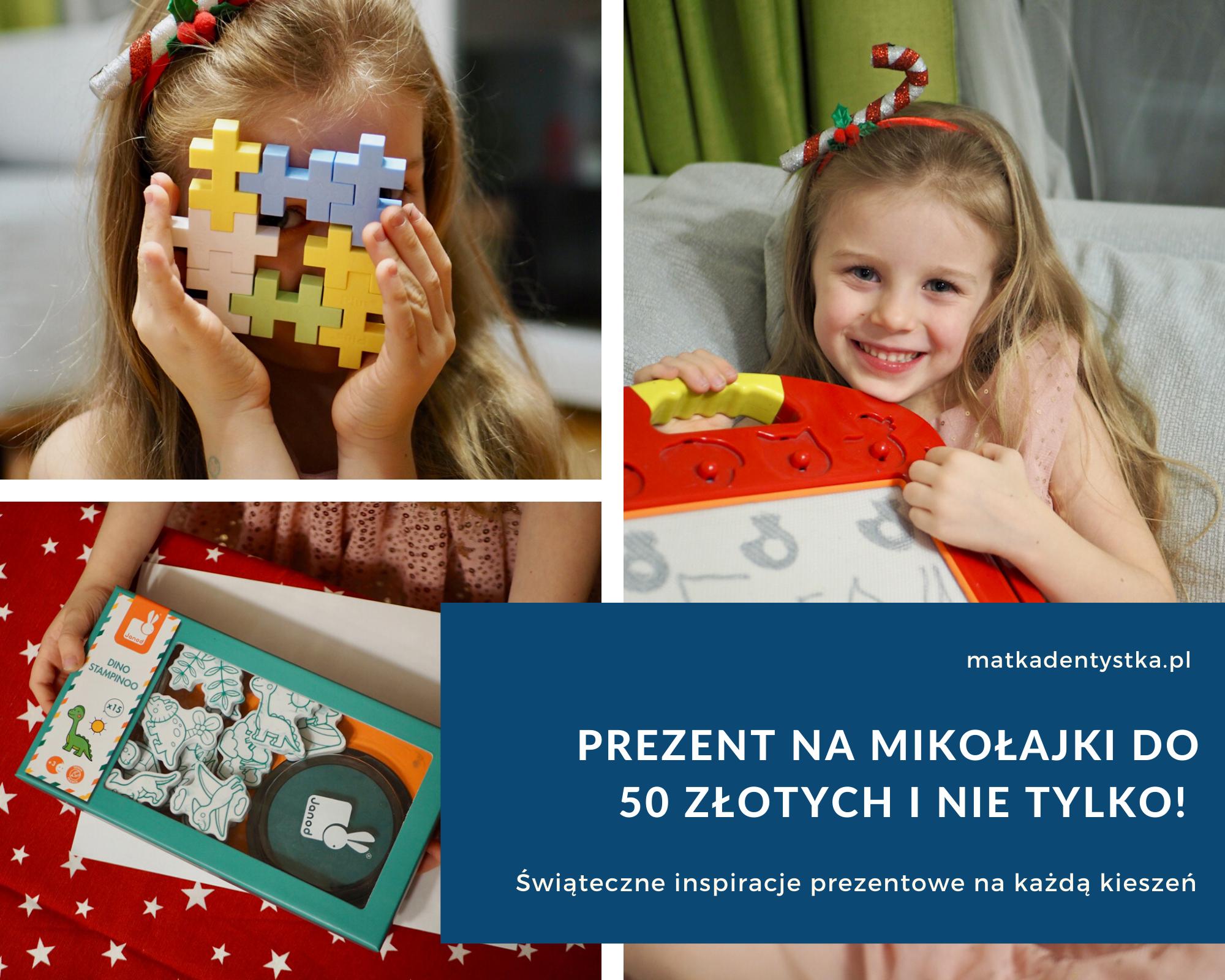 Prezent na Mikołajki do 50 złotych świąteczne inspiracje prezentowe