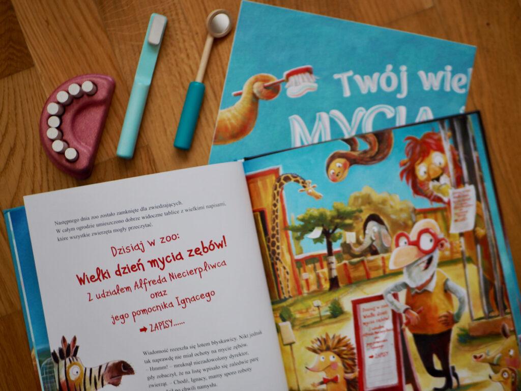 książeczki stomatologiczne dla dzieci