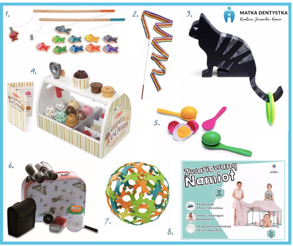 prezent na dzieńdziecka edukatorek zabawki