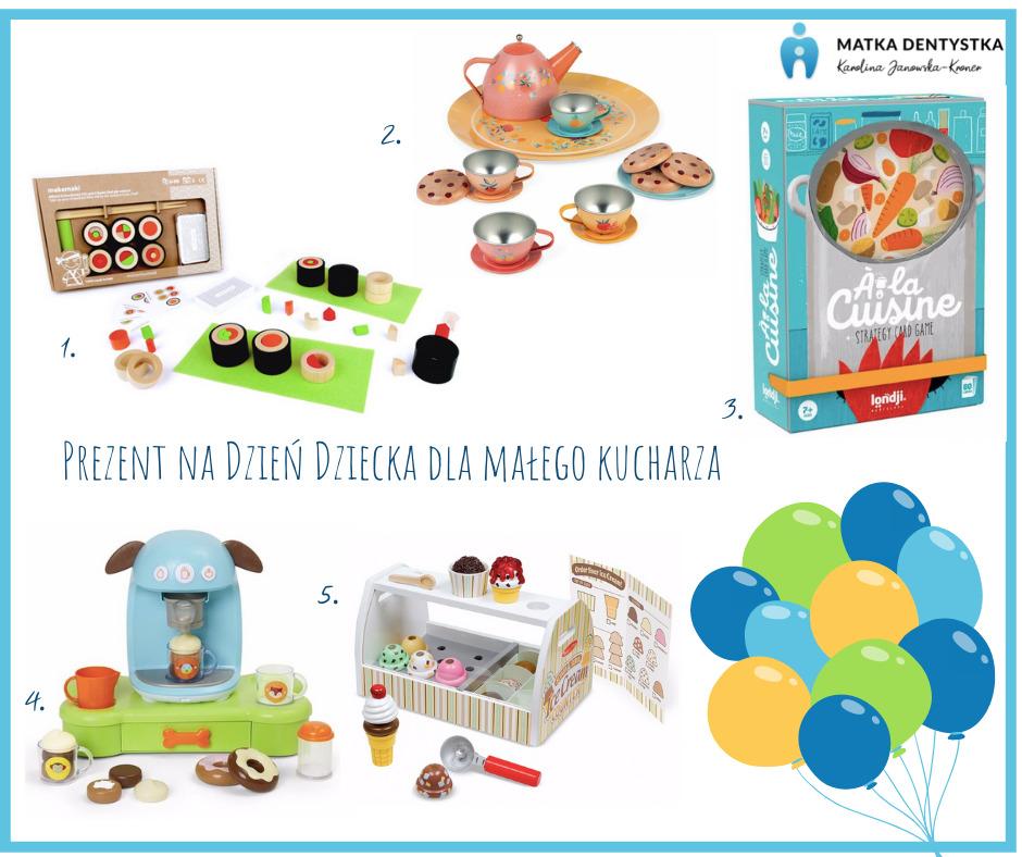 prezent na dzień dziecka dla małego kucharza
