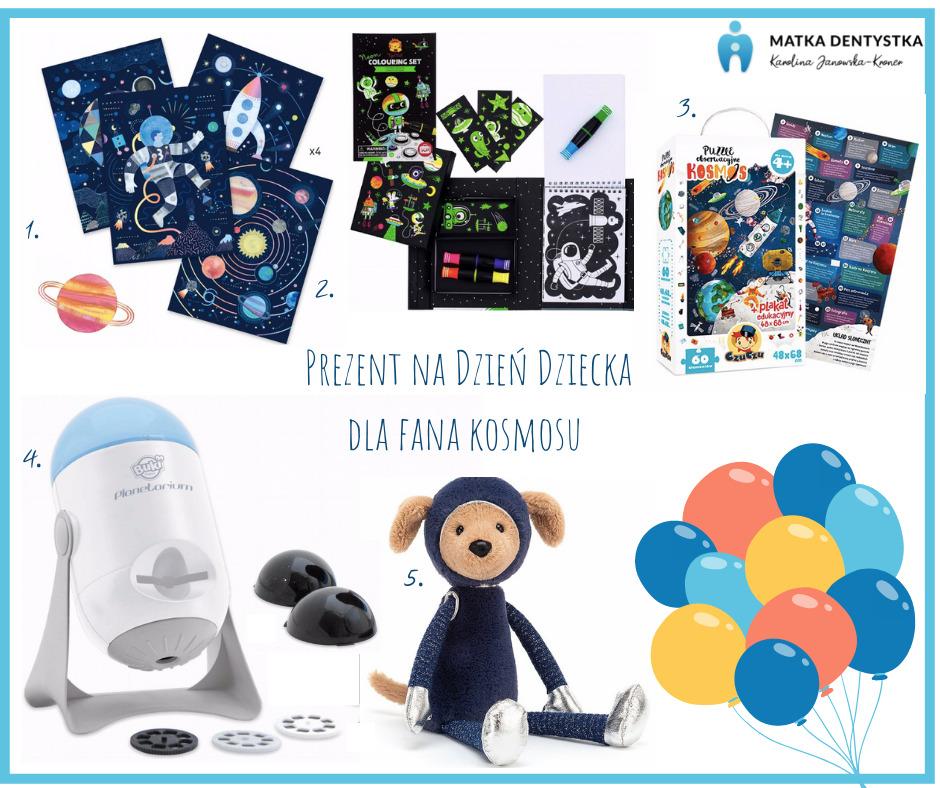 prezent na dzień dziecka dla fana kosmosu